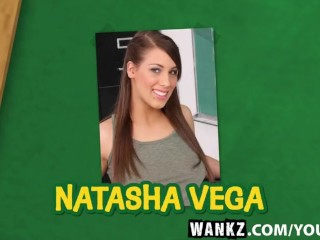 WANKZ- Pierced Teen Hottie Natasha Vega Fucks for Grades