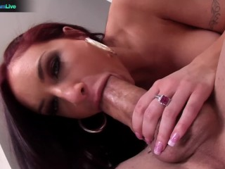 Pretty chick Amy Reid and Erik Everhard take it to the extreme