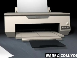 WANKZ- Naughty Secretary Amanda Tate