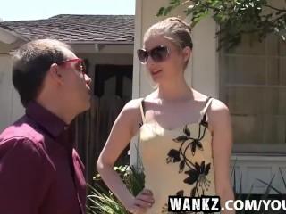 WANKZ- Real Estate Agent Ela Fucks Her Client