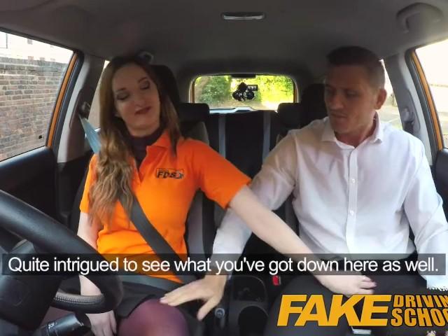 Female Fake Taxi Alessa Savage