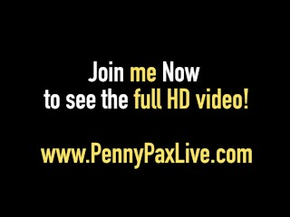 Red Head, Penny Pax Gets A COCK in Her Pussy Until She CUMS!