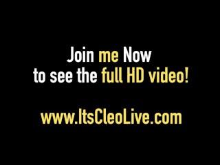 Its Cleo & Cadence Luxxx Enjoy Hot Juicy WebCam Lesbian Sex!