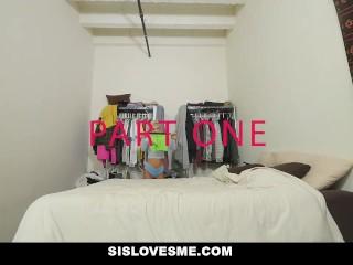 SisLovesMe - Hot Teen Stepsis Fucked By Pervy Bro