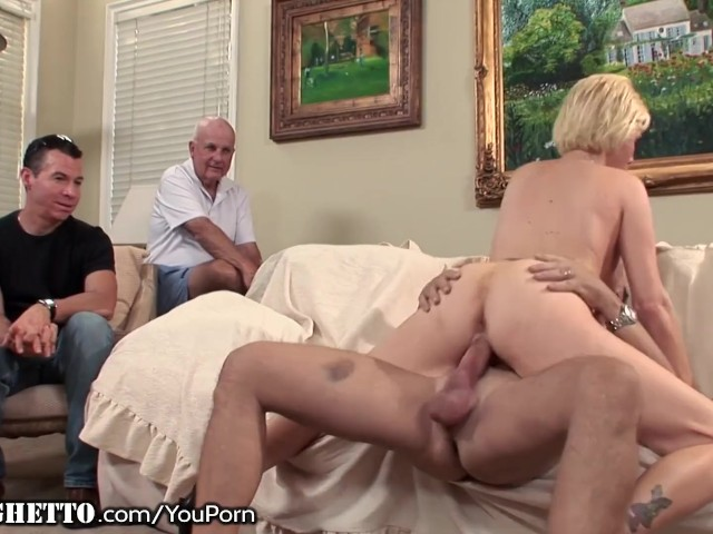 Wife Watches Husband Suck