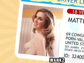 WANKZ- Sex Addicted Teen Mattie Borders
