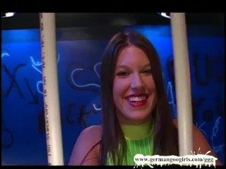Four Gorgeous Lesbian Prisoners have lots of fun - German Goo Girls