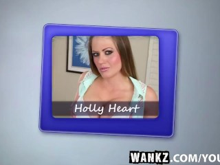 WANKZ- Sneaky Brad Cons Holly into Fucking