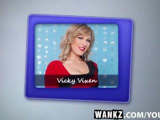 WANKZ- Naughty Milf Vicky Vixen Sucks And Fucks