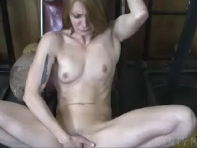 Mature redhead hairy pussy thumbs