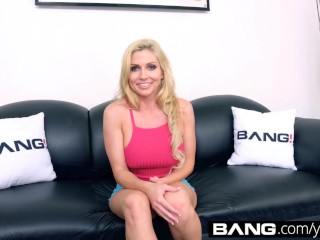 BANG Casting: DP Star Christie Stevens Gets A Double Facial