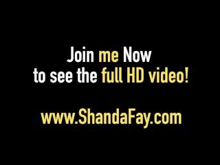 Canadian Cougar Shanda Fay Sucks A Cock & Gets Deep Fucked!