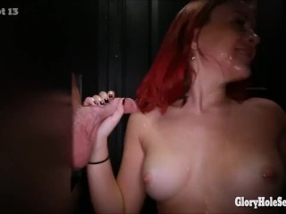 Chicks that love dicks in the gloryhole