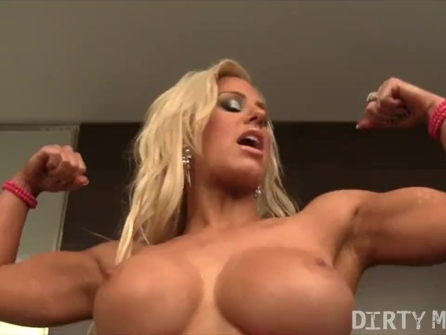 Ripped Teen Muscle Girl