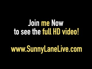 Blonde Babe Sunny Lane in Major Fuck Fest with 11 PornStars!