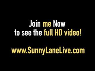 Smokin Sunny Lane in Hot 3 way Blonde Uk Babe Savannah Gold!