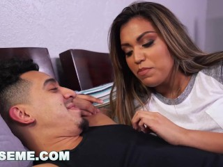 ABUSEME - Breaking and entering into Nicole Rey's pussy (am15841)