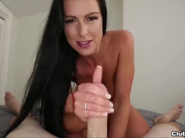 Hot Brunette Milf Pov Cock Stroking - Free Porn Videos -4898