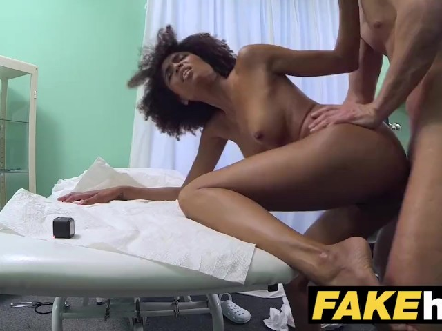 Ebony Teen Fucks Step Dad