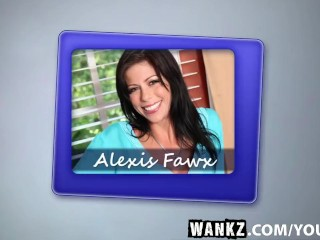 WANKZ- Taboo Sex with Hot Alexis Faux