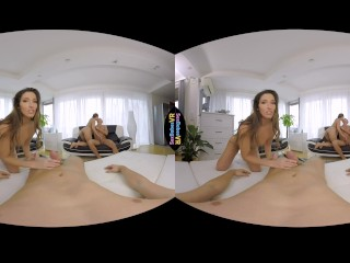 SexBabesVR - Paris Friends Part 2 with Clea Gaultier and Blue Angel