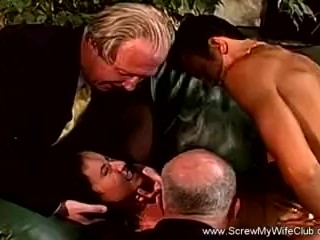The Swinger Experience Presents Swinger Wife Tries BBC Anal With Interracial Anal