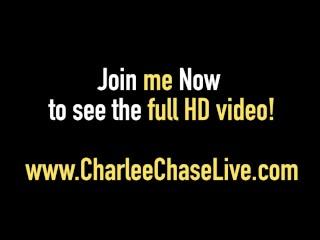 Hot Mommy Charlee Chase & Kelsie Cummings Love Stroking Cock