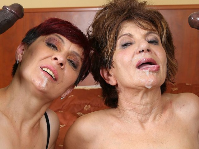 Grannies Hardcore Fucked Interracial Porn With Old Women -1440