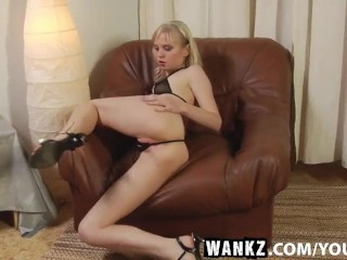 WANKZ- Blond Teen Dream Julia Fucked