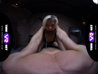TmwVRnet.com - Anna Rey - Blonde Goddess In Chains Gets What She Deserves