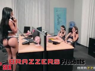 Brazzers presents 1 800 Phone Sex: Line 4
