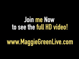 Maggie Green Says See Me Get A Hot Load Of Cum On My Tits!