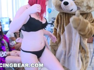 DANCINGBEAR - Office CFNM Birthday Bash Goes Off The Chain (db11282)