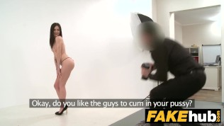 Fake Agent - German Teen babe wants to try Porn