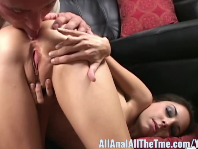 Eating Her Own Anal Creampie