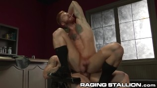 RagingStallion Bennett Anthony Rides Big Cock Stud