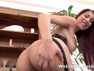 WeLikeToSuck - Christy Charming gets her throat and pussy fucked
