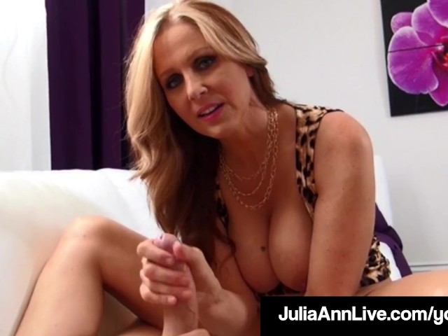 World Famous Milf Julia Ann Wants Your Hot Cum On Her Tits!