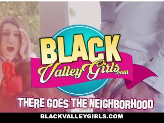 BlackValleyGirls- Ebony Lesbians Rubbing Pussies and Fuck