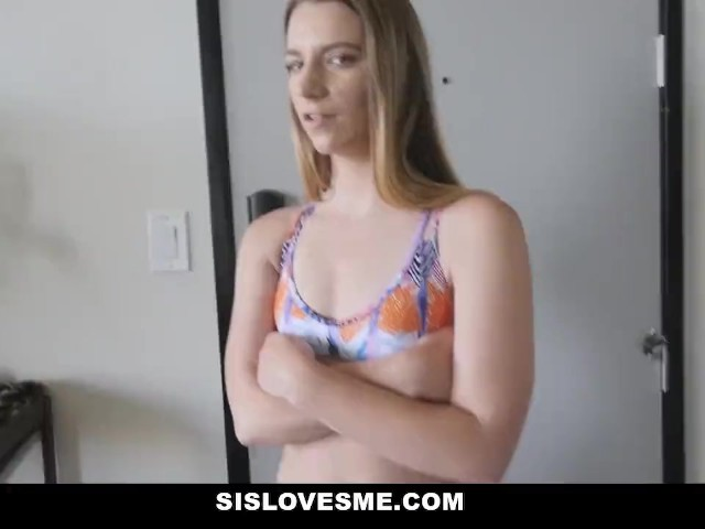 Blonde Big Tits Step Sis