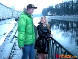 18videoz - Latex coat is a sign - she wants to fuck hard!