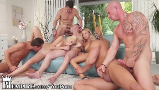 Big bi orgie