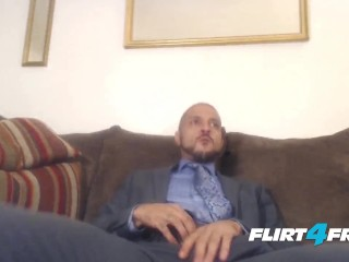 Charlie Westmoreland Has an Important Business Meeting with His Big Dick