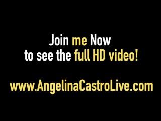 Curvy BBW All Star Wet Pussy Fest! Starring Angelina Castro!