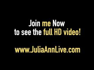 Hot Cougars Julia Ann & Lisa Ann Oil Up & Bang 2 Big Cocks!