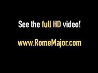 Rome Major & Friend Give Yasmine De Leon 2 Big Black Cocks!