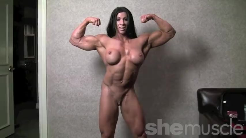 Naked female bodybuilder creampies
