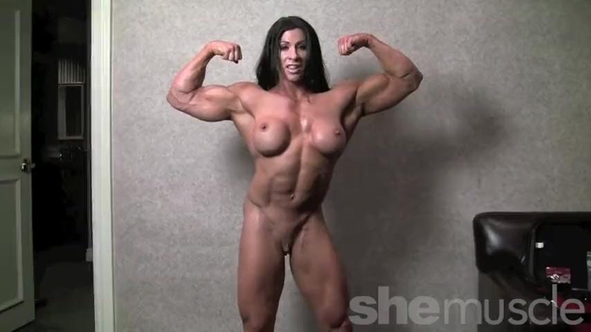 Bbw naked with bodybuilder