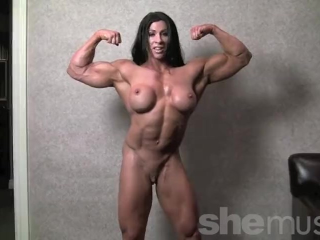 free nude black female body builder pics
