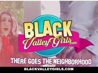 BlackValleyGirls - Geeky Ebony Teen Fucked